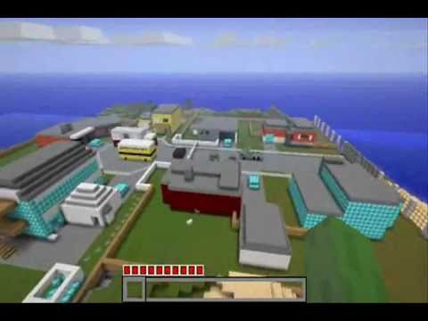 Minecraft Black ops Nuketown Map with Download