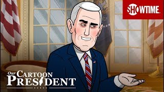 'The Manliest First Pitch in History' Ep. 10 Official Clip | Our Cartoon President | SHOWTIME