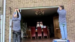 How to install bi-fold doors