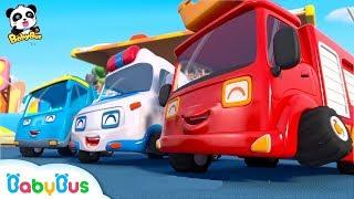Super Car Racing Team | Baby Panda