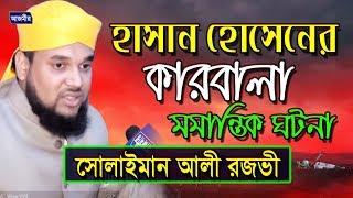 Bangla Waz | Soliman Ali Rojvi | সোলাইমান আলী রজভী | Hasan Hossain Er karbala হাসান হোসেনের কারবালা