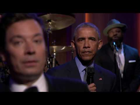 Best Moments of Obama Singing His Heart Out