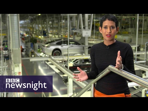 Cars and Brexit The view from Germany BBC Newsnight