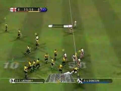 Rugby 08 PC gameplay