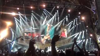 Rolling Stones Roma Circo Massimo 22-06-2014 Jumpin' Jack Flash