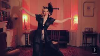 Striptease from elegant lady ♥