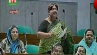 Papiya  member of Parliament BNP. She spoke about 1972/75.15th February 2010 .