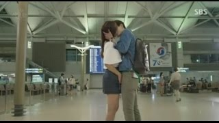 Ha Ji Won and Lee Jin Wook Kiss