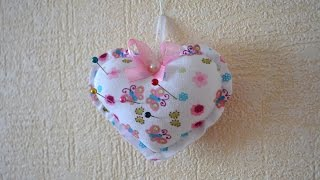 Make a Pretty Heart Pin Cushion - DIY Crafts - Guidecentral
