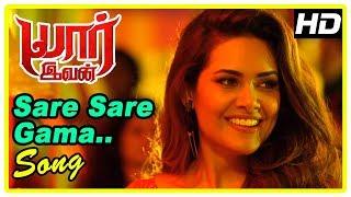 Sare Sare Gama Song | Yaar Ivan Latest Movie Scenes | Sachiin reveals about Esha's lookalike
