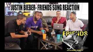JUSTIN BIEBER - FRIENDS REACTION/REVIEW (FULL SONG)