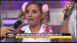 Ximena Hoyos derrochó sensualidad e impactó a Jesús Alzamora en LRDP