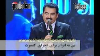 tatlises - ahmadi nejad سخنان ابراهیم تاتلیس در باره احمدی نژاد