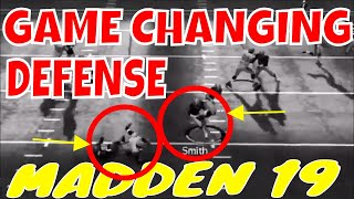 MADDEN 19 GAME CHANGING DEFENSE AND WHERE TO FIND IT.🔥 PLUS 4-3 SAM BLITZ 2 HEATER
