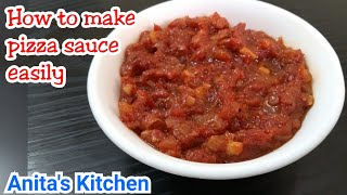 Pizza sauce recipe | How to make pizza sauce easily
