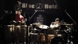 Supersonic Lord Sumo - Incognito Drum Percussions solo Blue Note Milan 2013