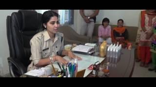 Self protection pepper spray  SP Sirmour Ms Soumya Sambasivan, IPS