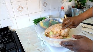 How To Marinate A Whole Chicken Before You Put It In The Oven In 24 Hours | Recipes By Chef Ricardo
