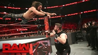 Seth Rollins vs. Kevin Owens: Raw, Jan. 2, 2017