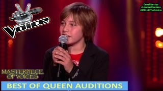 BEST OF QUEEN SONG AUDITIONS IN THE VOICE
