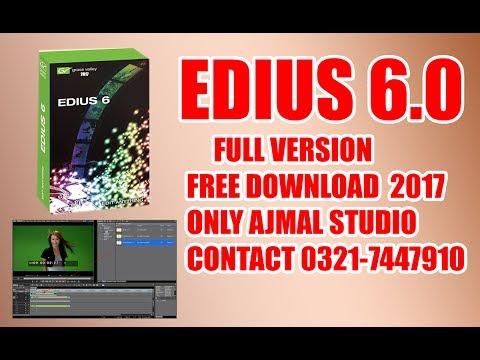 How To Download Edius 6 0 Full version Free Download Urdu & Hindi 2017