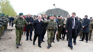 JAV gynybos sekretoriaus J. Mattiso vizitas Pabradeje