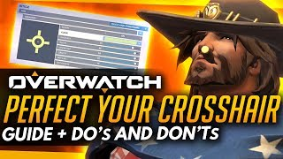 Overwatch | How To Make The Best Crosshair - Customize Guide