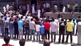درعا// ابطع: القصف لا يخيف ابطال ابطع 28-7-2012