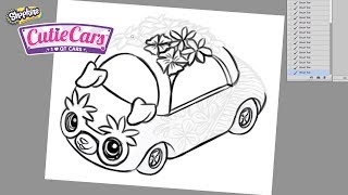 How to design your VERY OWN Cutie Car || with Sandra from Sandraroo!