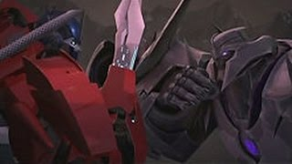 Transformers Prime. Optimus Vs Megatron/Skillet - Awake and alive