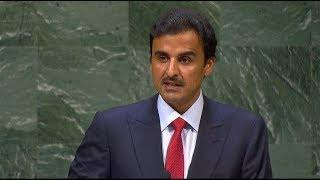 أمير قطر : تكشفت حقائق كثيرة عن تنظيم مسبق لحملة تحريض على قطر بعد مرور أكثر من عام على الحصار