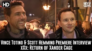 Producers Vince Totino & Scott Hemming Premiere Interview - xXx: Return of Xander Cage