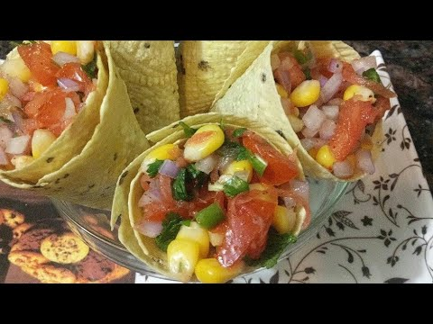Xxx Mp4 मसाला पापड़ How To Make Papad Masala Corn Chaat Tasty Party Starters At Home In Just Few Minutes 3gp Sex