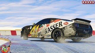 SNOW TRACK!!! - BEST DRIFTING TRACK EVER!!!! - GTA 5 Online MOD - GTA 5 GUNRUNNING DLC (4K Stream)