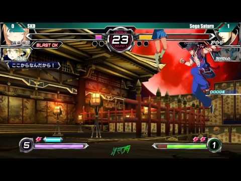 NEC 15 Dengeki Bunko Fighting Climax Top 8 SKD vs Sega Saturn