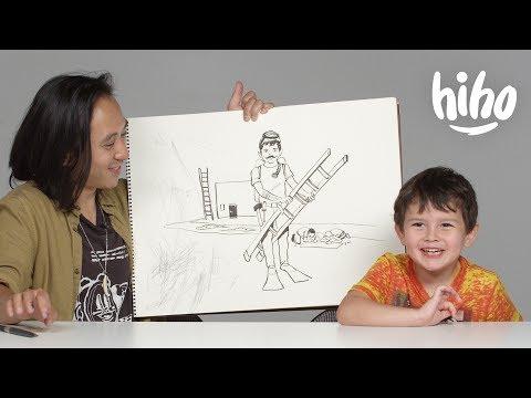 Kids Describe Their Dream Job to an Illustrator Kids Describe HiHo Kids
