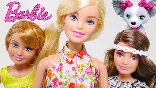 Barbie Great Puppy Adventure Barbie & Her Sisters in Time - Let's Add Play Doh!