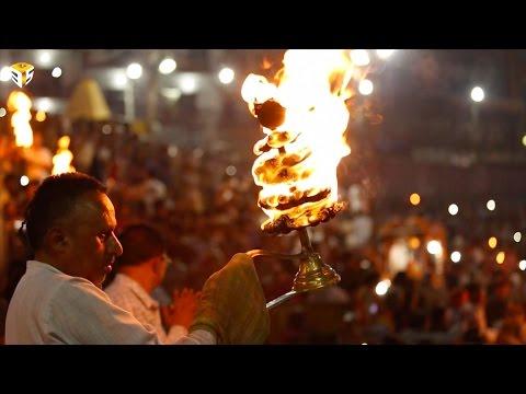 Ganga Aarti at Har-Ki-Pauri (Haridwar) By Three P's Entertainment (1080P HD)