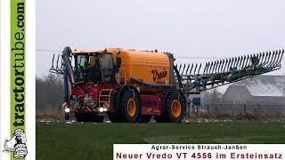 Ersteinsatz des neuen Vredo VT 4556 beim Agrar Service Strauch