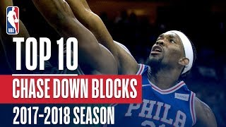 Top 10 Chasedown Blocks: 2018 NBA Season