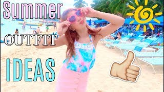 Summer Outfits Ideas 2017 | Forever 21, Justice, Target, Kohls
