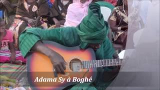Festival de la diversité culturelle prestation de Mr Adama sy à Boghé