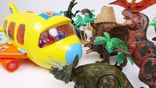 Fly! Fly! Pororo Plane Time Travel Dinosaurs World Tour! - DuDuPopTOY