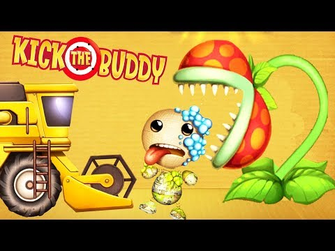 Kick the Buddy Fun With All Weapons VS The Buddy Android Games 2019 Gameplay Friction Games