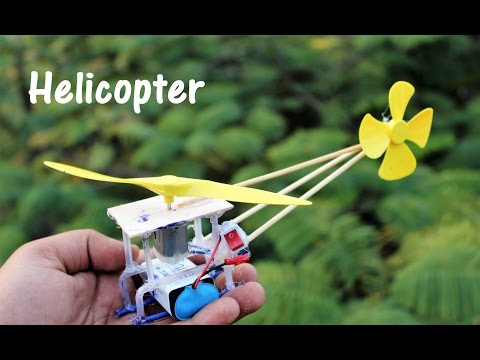 How to make helicopter