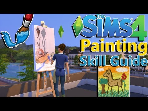 Xxx Mp4 Sims 4 Painting Skill Guide Painter Extraordinaire 3gp Sex