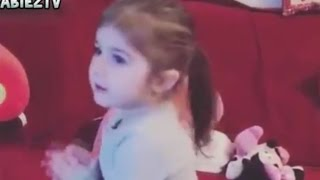 Cute Baby Girl Dances With Jingle Bells Christmas Song 2016