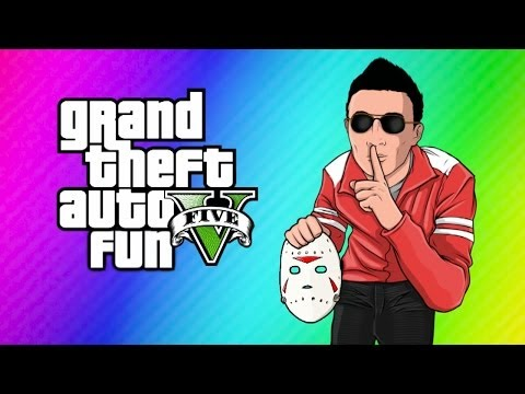 GTA 5 Online Funny Moments Switching Bodies with H2O Delirious
