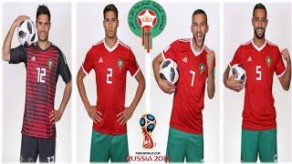 رسميا هيرفي رونار يكشف ارقام اقمصة اللاعبيين المنتخب المغربي في المونديال روسيا 2018
