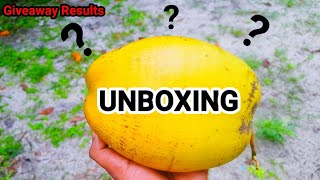 WHAT IS THIS???😱😱😱😱😱😱😱😱😱 SPECIAL UNBOXING | Giveaway Winner